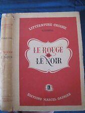 Le Rouge et le Noir - Stendhal - Editions Marcel Gasnier - 1946