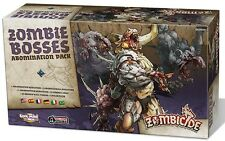 Zombicide: Black Plague - Zombie Bosses Abomination Expansion Pack CMON Sealed
