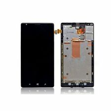 Nokia Lumia 1520 Bandit LCD Screen Display Digitizer Touch + Bezel Frame, Black