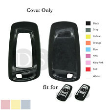 Paint Metallic Color fit for BMW 1 3 4 5 6 7 X1 X3 X5 Smart Key Fob Case BK