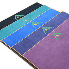 "Aurorae Yoga Towel / Mat, ""Synergy"" Patented 2 in 1 Slip Free Yoga Mat"
