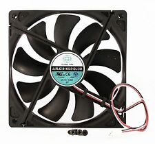 140mm 25mm New Case Fan 12V DC 74.6CFM CPU Computer Cooling 3Pin Ball Bg 324*