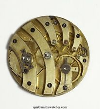 JACOT SWISS LEVER POCKET WATCH MOVEMENT  K1