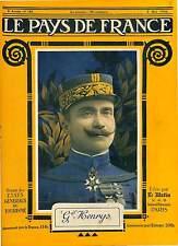 Portrait General Henrys Uniforme Croix de Guerre/Aircraft Gotha Paris  1918 WWI