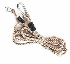 Single Tree Swing Extension Rope 5.5m long convert any swing to hang from a tree