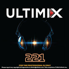 Ultimix 221 CD Ultimix Records One Direction Fifth Harmony Robin Thicke
