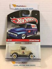'29 Ford Pickup * Tan * Delivery Garage Hot Wheels * D9