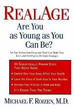 RealAge : Are You as Young as You Can Be? by Michael F. Roizen (1999, Hardcover)