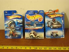 Lot of 3 Mixed Hot Wheels 1999 2009 2006 Fore Wheeler 1st Ed Tee'd Off Four-1