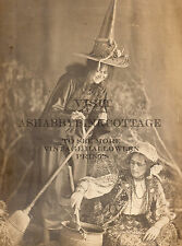 Vintage Halloween Witches Brew Photograph Witch Gypsy Costume RePrint #909