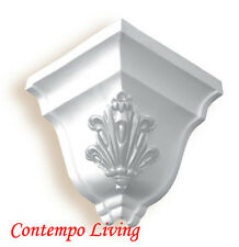 "6-1/2"" Pro PU Crown Moulding Outside Corner Molding"