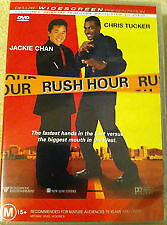 Rush Hour (DVD, 2005)Jackie Chan*Chris Tucker**VGC**