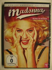 "MADONNA ""MUSIC IN REVIEW - WORLDS GREATEST ARTISTS"" - DVD"