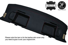 RED STITCHING REAR PARCEL SHELF LEATHER COVER FITS BMW 6 SERIES E24