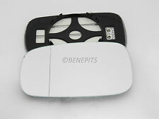 Renault Laguna II 2001-2008 Wing Mirror Glass Wide Angle HEAT Left Side #H015