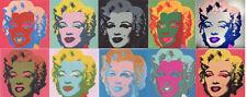 Warhol Sunday B. Morning Marilyn Portfolio 10 Prints