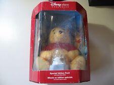 2002 Disney Holiday Pooh w/ snow globe NEW in Box NIB **Dented Box**
