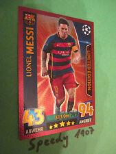 Topps Champions League 2015 16 limited Edition Messi BRONZE limitiert 2016 LE2