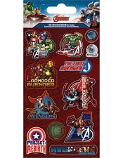 """Paper projects Marvel Avengers """"REBIRTH"""" Reusable foil Craft stickers Age 3 +"""