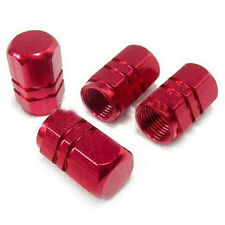 4Pcs Aluminum Tire Wheel Stem red Valve Caps Tyre Cover Car Truck Bike Amazing