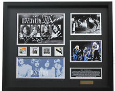 New Led Zeppelin Signed Limited Edition Memorabilia Framed