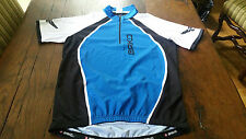MAILLOT  CYCLISTE  MANCHES COURTE  MARQUE BRIKO TAILLE M NEUF