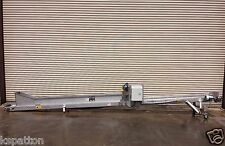 "10"" x 20' Long SS Incline Food Product Transfer Conveyor, Conveying"
