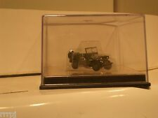 US ARMY  WWII ONE JEEP 1:72 JEEPS 4X4  W/O CASE  CAN-DO  HO DRAGON