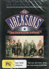 THE JACKSONS : AN AMERICAN DREAM COMPLETE MINISERIES (DVD) UK compatible sealed