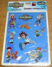 Hallmark Stickers Digimon Patamon Agumon Palmon + More NIP Free Ship Over $15