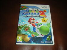 JEU NINTENDO WII SUPER MARIO GALAXY 2 - COMPLET CODE PIN VIERGE