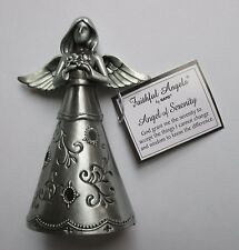 m Angel of Serenity prayer FAITHFUL FIGURINE Ganz accept wisdom AA rehab