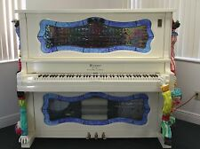 Antique Clown Nickelodeon O Roll Player Piano - No Reserve Custom Upright Grand