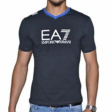 Original T-Shirt EMPORIO ARMANI EA7 Train Graph V  273814  Bleu T.M  NEUF