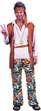 Hippy MAN-Hippie Uomo Costume anni'60 -'70 FANCY DRESS-Inc.. Fascia e Cintura