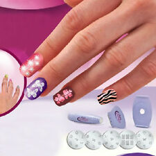 Nail Art tools Kit Set Printer Print Printing Pattern Stamp Manicure Machine AU