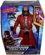 Guardians of the Galaxy Battle FX Star-Lord 12 In Figure MIB Marvel Toy W/ Sound