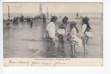 Bathing and Wading at Rockaway Beach  NY