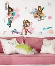 SHAKE IT UP wall stickers CeCe Rocky 19 big colorful Disney decals room decor