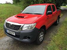 Toyota Hi-Lux 2.5 D-4D HL2 Double Cab, 2012 61 FACELIFT in Sunburst Red