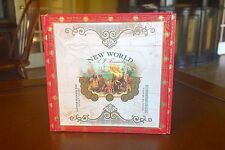 A.J. FERNANDEZ NEW WORLD WOODEN CIGAR BOX - for Guitar, Jewelry Box, Purse