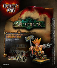 Avatars of War BNIB - Dwarf Slayer Lord Limited Edition Borg Ironfist