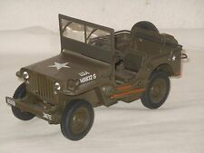 UT - MODELLINO IN METALLO - 1:18 SCALA - WILLY`S JEEP US ARMY WILLYS