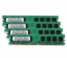 NEW 8GB 4X 2GB DDR2-800MHz PC2-6400U 240PIN DIMM intel/AMD RAM Desktop Memory