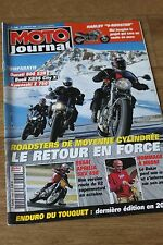 MOTO JOURNAL N°1648 DUCATI 800 MONSTER S2R BUELL XB9SX CITY CROSS KAWASAKI Z 750