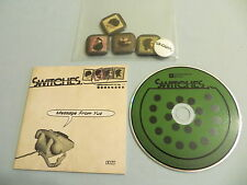 SWITCHES Message From Yuz EP debut CD single with badges