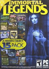 Immortal Legends 15 Pack PC Games Windows 10 8 7 Vista XP Computer hidden object