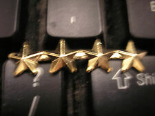 """MEDAL/RIBBON DEVICE-5/16"""" GOLD STAR ON 4"""