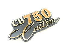 Honda CB 750 C Custom Emblem Side Cover Aftermarket New