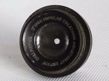 "DALLMEYER POPULAR ENLARGING ANASTIGMAT 3"" INCH 1:4.5 LENS CASED GOOD COND USED"